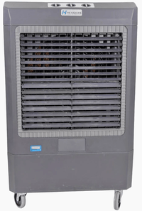 Hessaire Outdoor Rated Portable Evaporative Cooler w/ Adjustable Louvers 5300 CFM 3 Speed MC61V