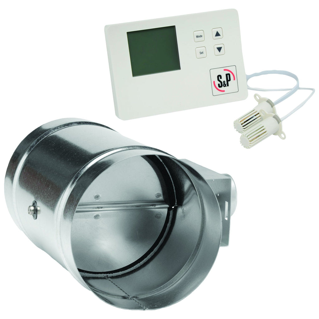 reFresh Outside Air Kit Incl. Envirosense Ventilation Controller & 6 inch Motorized Damper MD6-ES24VK
