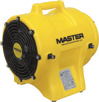 Master 8 inch Confined Space Ventilator w/ 25' of Ducting 930 CFM MBPO813-D25