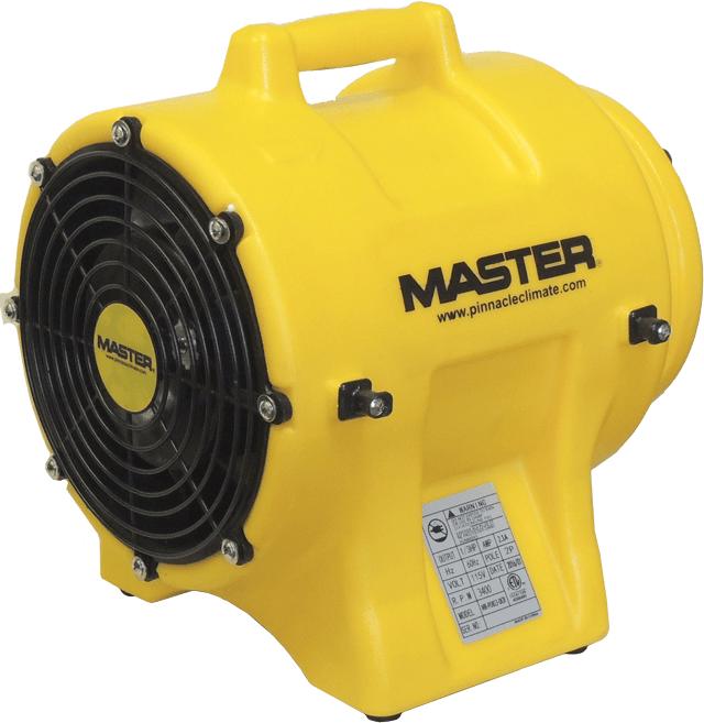 Master 8 inch Confined Space Ventilator 930 CFM MB-P0813-DCR