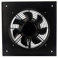 DXP Motorized DC Wall Axial Panel Fan 12 inch 1441 CFM 24V or 48V DXP300-2DC