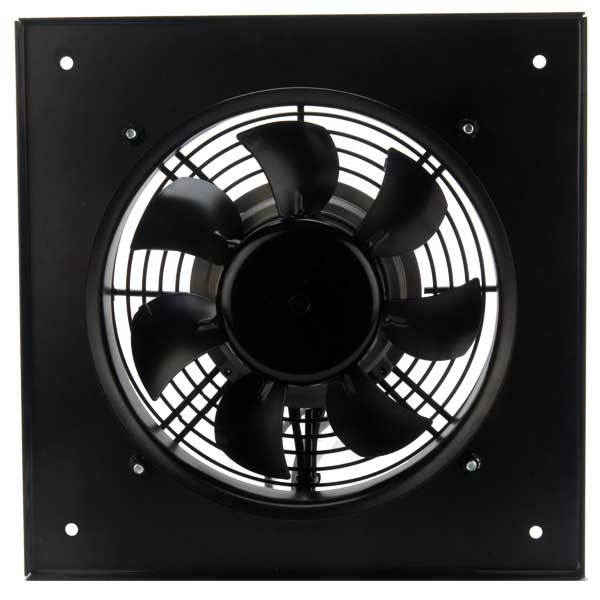 DXP Motorized AC Wall Axial Panel Fan 10 inch 882 CFM 230V DXP250-2AC-12