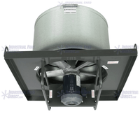 AirFlo-NA Explosion Proof Roof Exhaust Fan 30 inch 14000 CFM Direct Drive 3 Phase NAL30-G-3-E