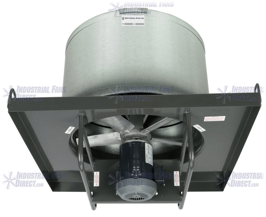 AirFlo-NA Roof Exhaust Fan 24 inch 10500 CFM 3 Phase Direct Drive NA24-H-3-T