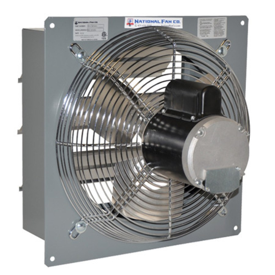 Mountable Exhaust Fan : Airflo sf exhaust fan w shutters inch cfm