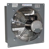 SF Exhaust Fan w/ Shutters 2 Speed 18 inch 3264 CFM Direct Drive SF18F2, [product-type] - Industrial Fans Direct