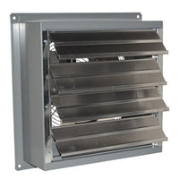 SF Exhaust Fan w/ Shutters 1 Speed 18 inch 3264 CFM Direct Drive SF18F1, [product-type] - Industrial Fans Direct