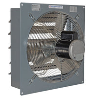 SF Exhaust Fan w/ Shutters 1 Speed 20 inch 3488 CFM Direct Drive SF20F1, [product-type] - Industrial Fans Direct