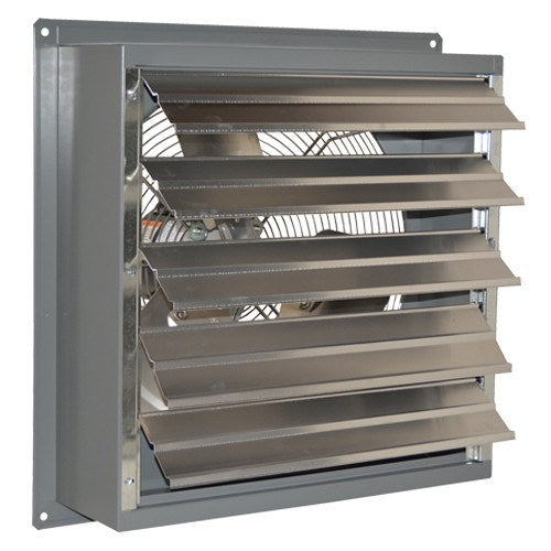 SF Exhaust Fan w/ Shutters Variable Speed 24 inch 5151 CFM Direct Drive SF24GVD, [product-type] - Industrial Fans Direct