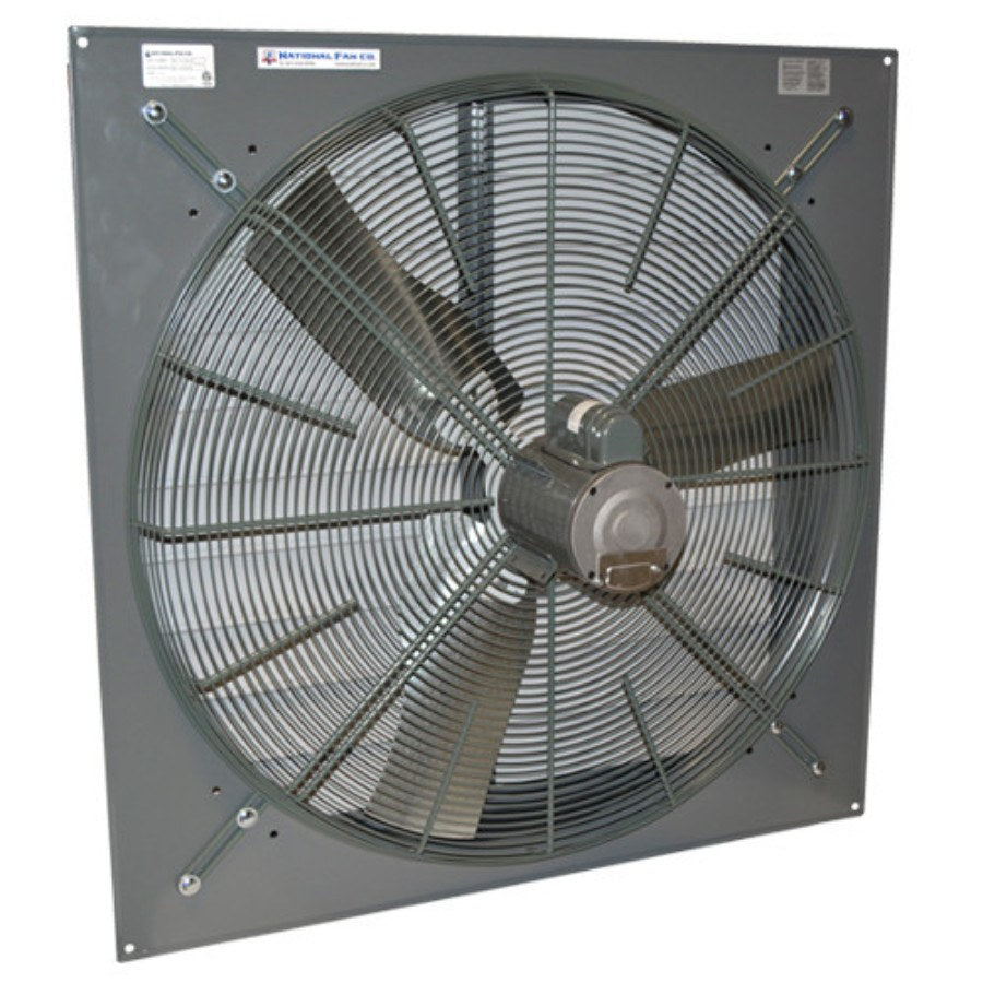 SF Exhaust Fan w/ Shutters 1 Speed 36 inch 10200 CFM Direct Drive SF36G1D
