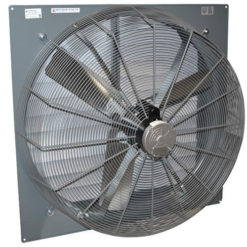 SF Exhaust Fan w/ Shutters 1 Speed 42 inch 15198 CFM Direct Drive SF42H1D, [product-type] - Industrial Fans Direct