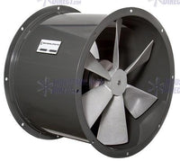 Tube Axial Duct Fan 24 inch 6900 CFM Direct Drive 3 Phase NDL24-D-3-T