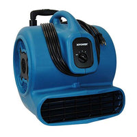 XPower Air Mover w/ Teloscopic Handle and Wheels 3 Speed 3200 CFM P-800H, [product-type] - Industrial Fans Direct
