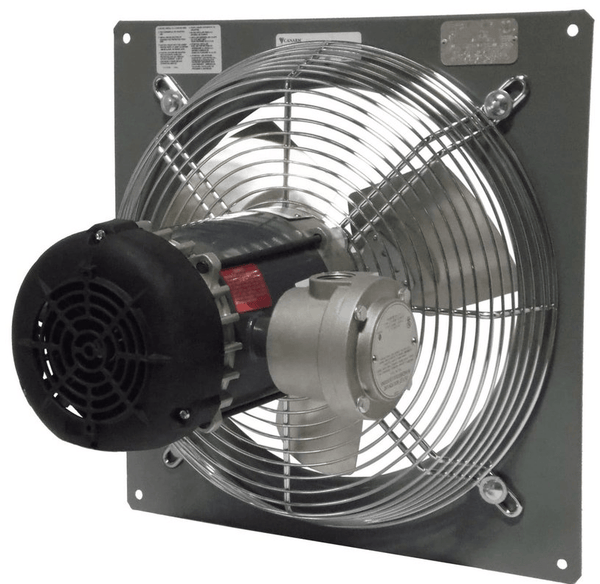 Wall Mount Panel Type Exhaust Fan 10 Inch 2 Speed 690 Cfm Direct Drive Industrial Fans Direct