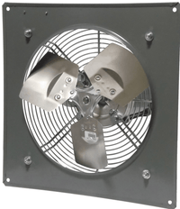 Explosion Proof Panel Mount Exhaust Fan 14 inch 2190 CFM 3 Phase Direct Drive P14-4M