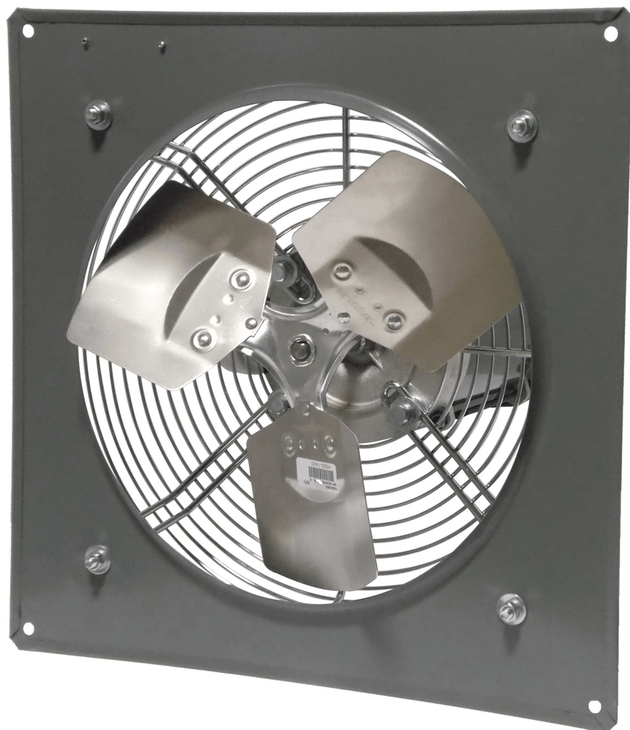 Explosion Proof Panel Mount Exhaust Fan 12 inch 1640 CFM 3 Phase Direct Drive P12-4M