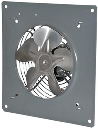 AirFlo-PF Panel Exhaust Fan 8 inch 367 CFM 2 Speed PF083