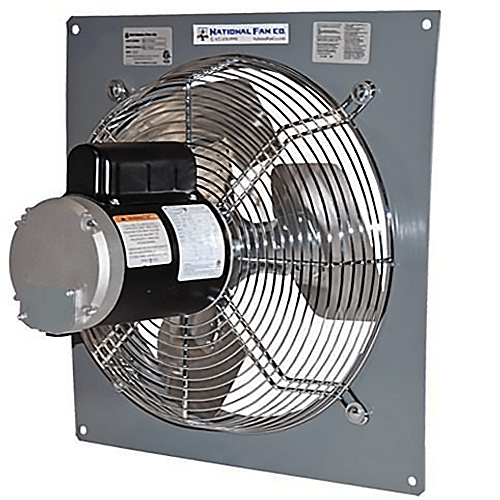 Airflo Pf Panel Exhaust Fan 18 Inch 3213 Cfm Variable Speed Pf181v Industrial Fans Direct