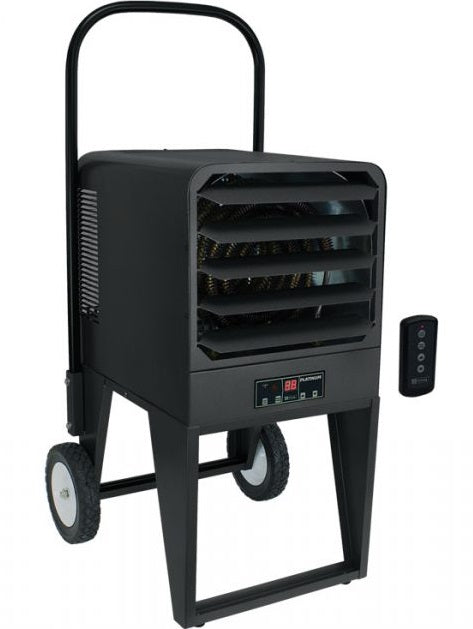 King Platinum Industrial Portable Heater w/ LED Display & Remote 34100 BTU 208V 3 Phase PKB2010-3-P3
