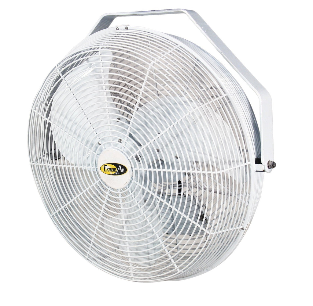 White Indoor/Outdoor Air Circulator Fan 3 Speed 14 inch 1540 CFM POW14, [product-type] - Industrial Fans Direct