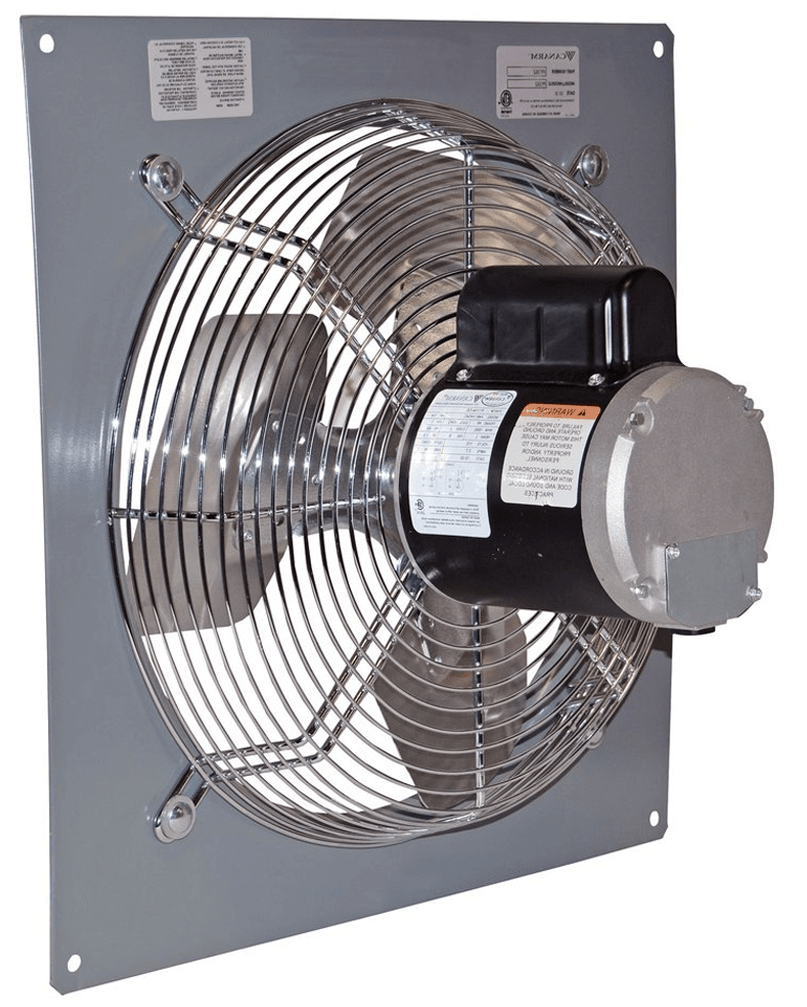 Wall Mount Panel Type Exhaust Fan 24 inch 1 Speed 5520 CFM 3 Phase P24-1M