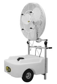 Portable Oscillating 24 inch 3 Speed Misting Fan w/ 22 Gal Tank 7200 CFM VPC24-POWSC