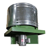 RD Roof Exhaust Fan 24 inch 6761 CFM Direct Drive 3 Phase RD24T30100BM, [product-type] - Industrial Fans Direct