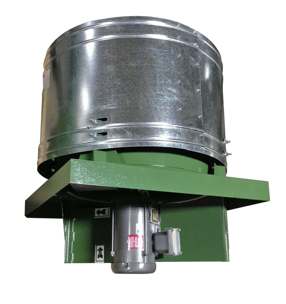 RD Roof Exhaust Fan 30 inch 11600 CFM 3 Phase Direct Drive RD30T3150CM, [product-type] - Industrial Fans Direct
