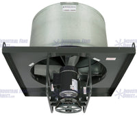 AirFlo-NV8 Explosion Proof Upblast Roof Exhaust Fan 48 inch 19188 CFM Belt Drive 3 Phase NV848-E-3-E