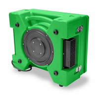 B-Air Green Raptor HEPA Air Scrubber Variable Speed 500 CFM RA-650-GREEN, [product-type] - Industrial Fans Direct