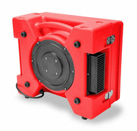 B-Air Red Raptor HEPA Air Scrubber Variable Speed 500 CFM RA-650-RED, [product-type] - Industrial Fans Direct