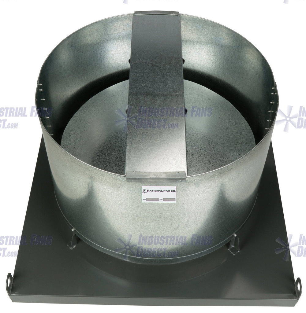 AirFlo-NV8 Explosion Proof Upblast Roof Exhaust Fan 60 inch 44600 ... for Industrial Roof Exhaust Fan  192sfw