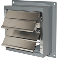 SD Exhaust Fan w/ Shutters 2 Speed 8 inch 360 CFM Direct Drive S8-B2