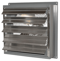 SD Exhaust Fan w/ Shutters Variable Speed 24 inch 5050 CFM Direct Drive SD24-GVD