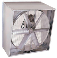 Slant Wall Exhaust Fan 48 inch 18500 CFM Belt Drive SLW4815