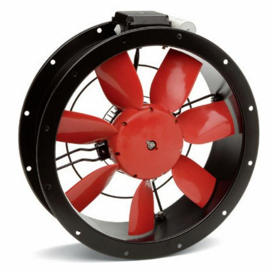 Da Compact Duct Axial Fan 12 Inch 1216 Cfm Direct Drive