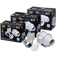 TD-Mixvent Standard Exhaust Fan Kit 4 inch 101 CFM KIT-TD100, [product-type] - Industrial Fans Direct