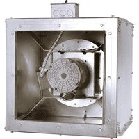 Square Inline Duct Fan 12 inch 2159 CFM Direct Drive SQD12501CS, [product-type] - Industrial Fans Direct