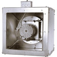 Square Inline Duct Fan 6 inch 406 CFM Direct Drive SQD601AS, [product-type] - Industrial Fans Direct
