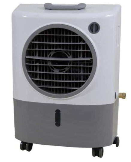 Hessaire Outdoor Rated Personal Portable Evaporative Cooler 1300 CFM 3 Speed MC18M