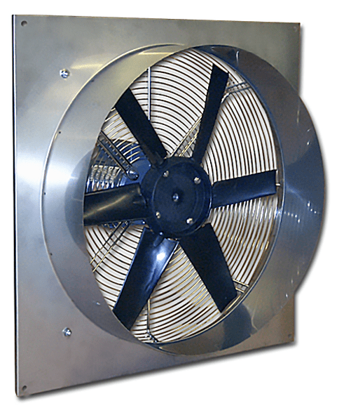 Stainless Steel Panel Exhaust Fan 24 inch 5200 CFM Direct Drive TF24