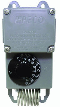 25 Amp Single Stage Moisture Proof Thermostat Rated 40F-100F (Heating & Cooling) TF115-001