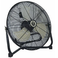 Commercial Floor Fan 3 Speed 18 inch 3150 CFM CF-18, [product-type] - Industrial Fans Direct