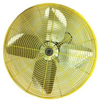 Industrial Yellow Circulator Fan 2 Speed 30 inch 9850 CFM HDH-30, [product-type] - Industrial Fans Direct