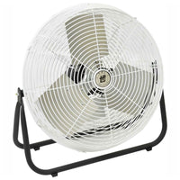 TPI Corrosion Resistant Industrial Workstation Floor Fan 3 Speed 24 inch 2100 CFM F-24-CR