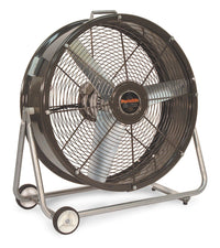 CF Portable Tilt Blower Fan 2 Speed 24 Inch 3800 CFM Direct Drive CF2421, [