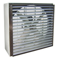 VIK Cabinet Exhaust Fan w/ Shutters 48 inch 21500 CFM Belt Drive VIK4816-U, [product-type] - Industrial Fans Direct