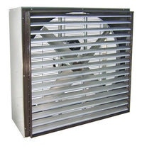 VIK Cabinet Exhaust Fan w/ Shutters Totally Enclosed 48 inch 21100 CFM Belt Drive 3 Phase VIK4817T-X