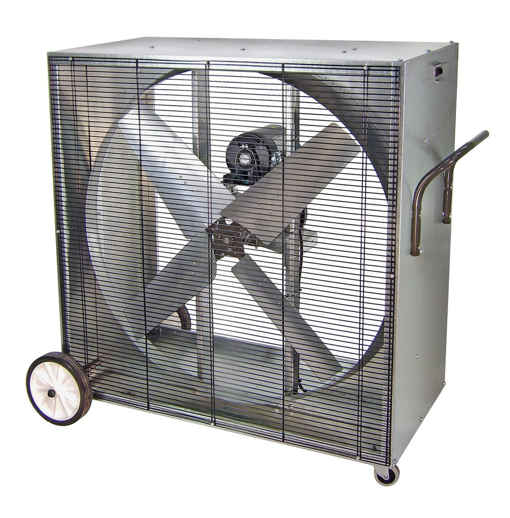 42 Inch Portable Fan : Pvi heat buster portable boxed blower fan speed inch