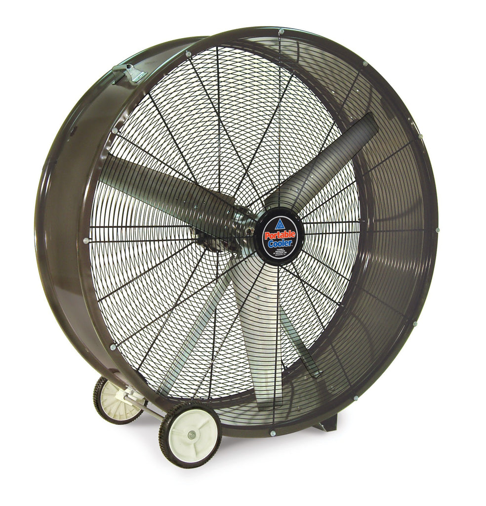 36 Inch Direct Drive Fans : Qbd portable cooler drum fan speed inch cfm